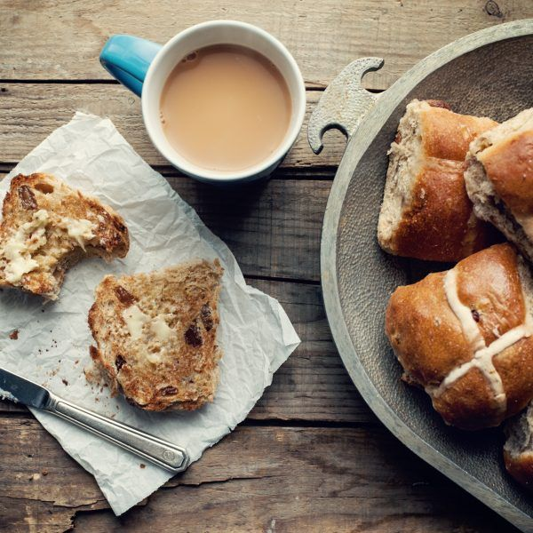 Easter Special:  Hot cross buns (Find bonus recipe)